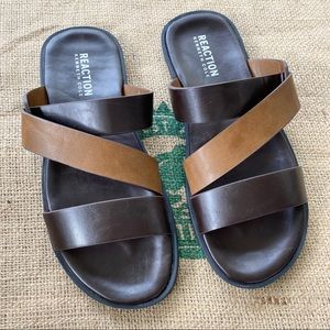 Kenneth Cole Reaction Percy strap slide sandals 10